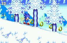 Sonic the Hedgehog Defender of Nature? But he snowboards... He's supposed to be cool...